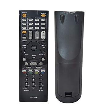 BOTTMA New Remote Control Compatible for ONKYO Home Theater HTS-3500 HT-S5400 HT-S5500 TX-SR309 TX-SR313 TX-NR616 TX-NR626 HT-R391 HT-R548 HT-R558 HT-R590 HT-R591