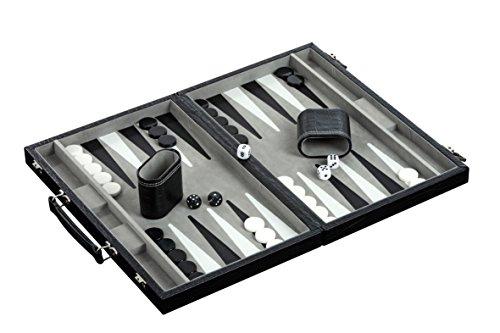 Philos 1733 - Backgammon Kunstleder, medium