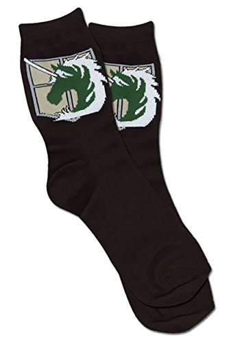 Toy Zany Attack On Titan Military Police Regiment Emblem Socken