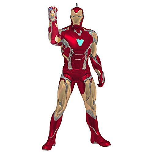 Hallmark Keepsake Christmas Ornament 2020, Marvel Studios Avengers: Endgame Iron Man Superhero Ornament
