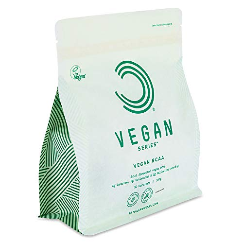 Bulk Vegan BCAA Powder, Unflavoured, 500 g, Packaging May Vary