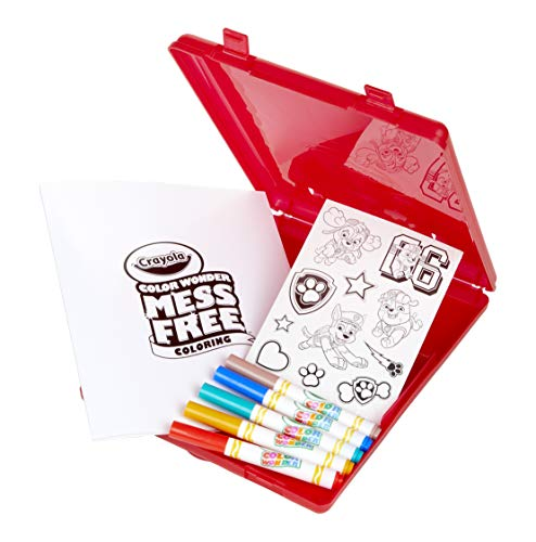 Crayola Color Wonder, Paw Patrol Coloring Book, Travel Coloring Kit, Gift for Kids 3, 4, 5, 6