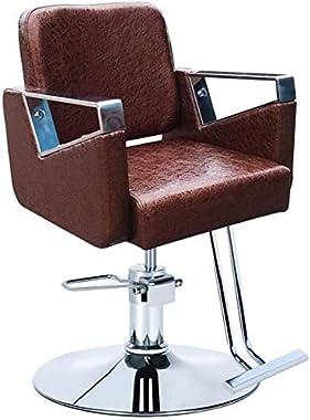 Vintage Salon Chair Hydraulic Beauty Equipment, Hydraulic Barber Chair Classic Salon Spa Shaving Tattoo Haircut Hairdressing