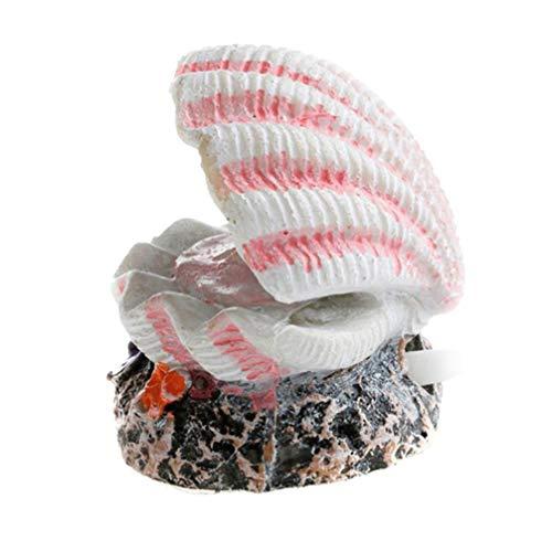Balacoo Luft Stein Stein Harz Muschel für Aquarium Aquarium Luftsteine ??Diffusor Aquarium Ornamente