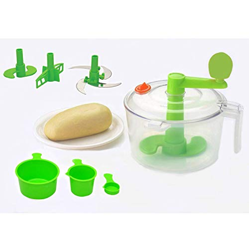 Primelife Plastic Atta Dough Maker with Beater, Chop &...