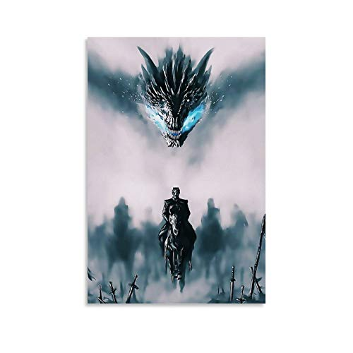 LOPOA To The Throne of The Game Poster - Cuadro decorativo para pared (20 x 30 cm)