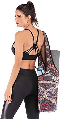 Ducomi tas voor yogamat, tas voor fitness, pilates, cadeau voor dames