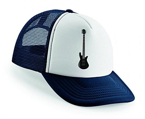Snapback Gitarre- AXT- Musik- Musical- Instrument- Elektro- String- AKKORD- Blues- POP- Punk- HART- Band Unisex Baseballmütze Trucker Mützen Base Caps