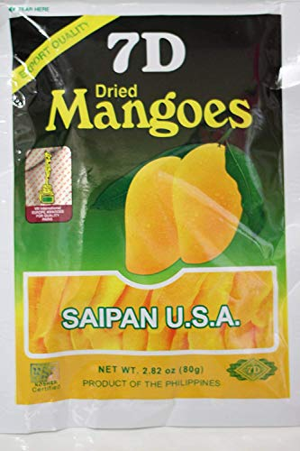 New Export Quality Dry fruit, Delicious 7D Dried Mangoes snack x 2pcs