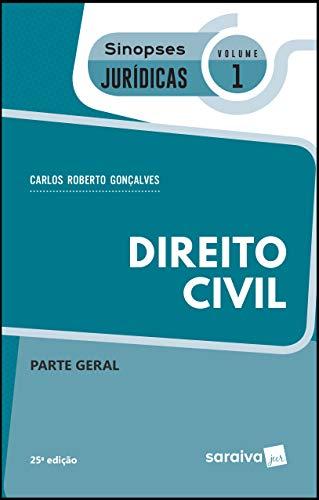 Sinopses jurídicas: Direito civil: Parte geral - 25ª edição de 2019