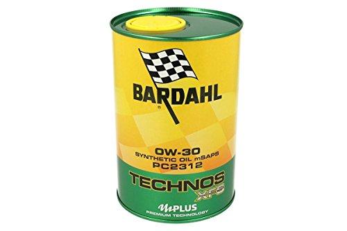 BARDAHL TECHNOS xfs PC23120W30Motoröl Schmierstoffe Auto 1lt