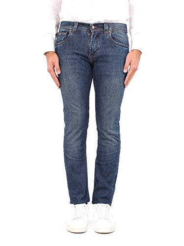 Etro 1W417 9620 200 Jeans Mann 36
