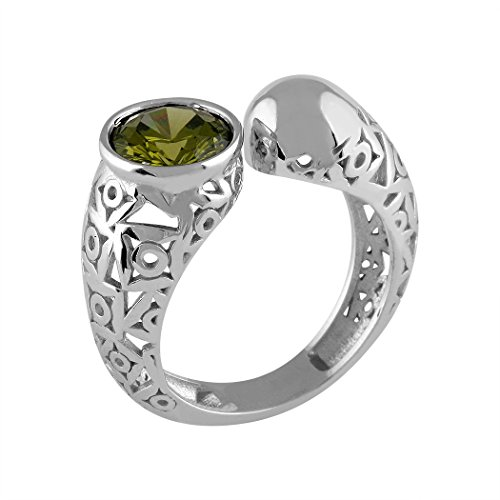 Queka-Silber-Ring-Sammlung Act 925m Alejandra [AA0868]