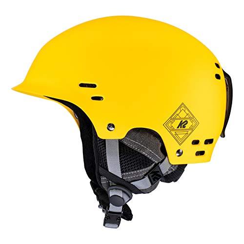 K2 Ski Unisex– Erwachsene Thrive Skihelm, Classic Yellow, L/XL (59-62cm)