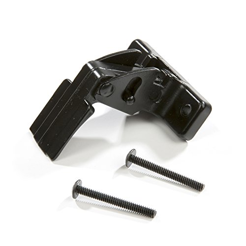 Ultra Hardware 31601 Storm and Screen Door Latch Handle - Resilient Keeper - Black Finish
