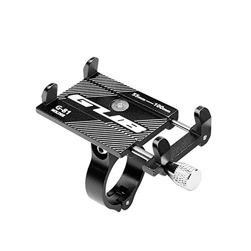 GUB - Soporte de teléfono para bicicleta y moto (aluminio)