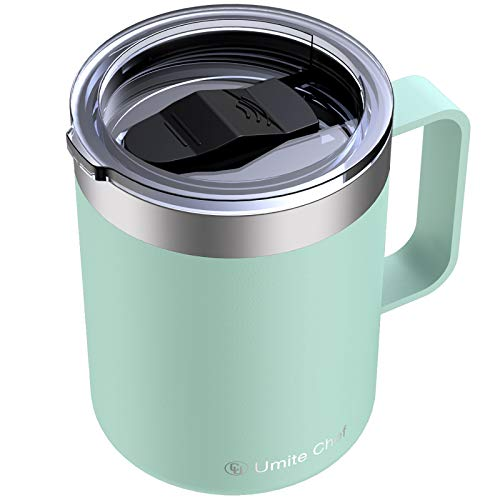 Stainless Steel Insulated Coffee Mug Tumbler with Handle,