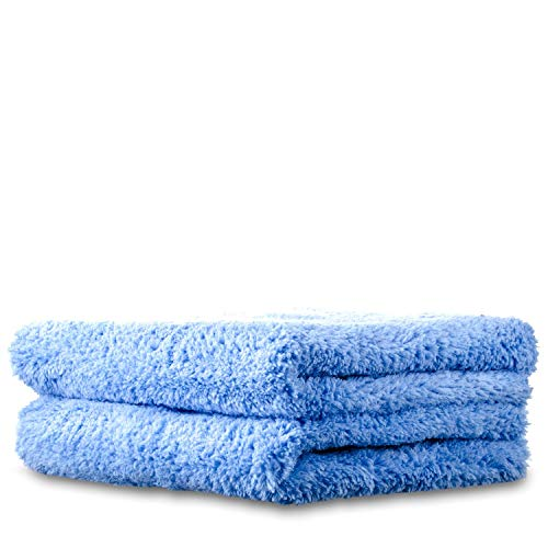 Dr. Beasley's Edgeless Detailing Microfiber Towel- No Tags, No Edges, Scratch-Free, High Absorbency, Safe Against Matte Paint (2-Pack)