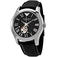 Armani Automatic Black Dial Men's Watch