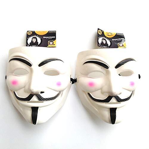 Sin marca Máscara Plástica, 2 Unidades