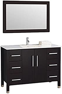 MTD Vanities Monaco-60 Monaco Single Sink Bathroom Vanity Set, 60