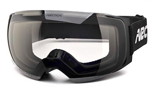 Skibrillen Arctica® G-105 FP Photochromatische Photochromic Polarisierende Selbsttönende Glass Anti-Nebel Doppelnlinsen
