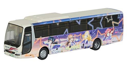 ザ・バスコレクション バスコレ 東海バス オレンジシャトル ラブライブ!サンシャイン!! ラッピングバス4号車 ジオラマ用品 (メーカー初回受注限定生産)