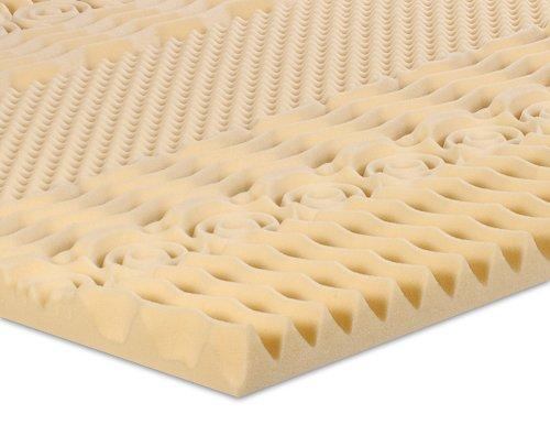 Serenia Sleep 2-Inch 7-Zone Memory Foam Topper, Full