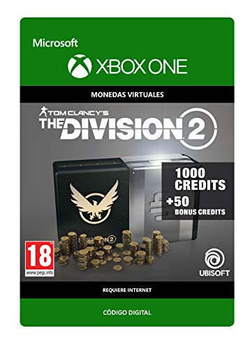 Tom Clancy's The Division 2: 1050 Premium Credits Pack 1050 Premium Credits Pack | Xbox One - Código de descarga