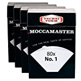 Technivorm #1 Coffee Filters for Cup-One Brewer (4 Count)