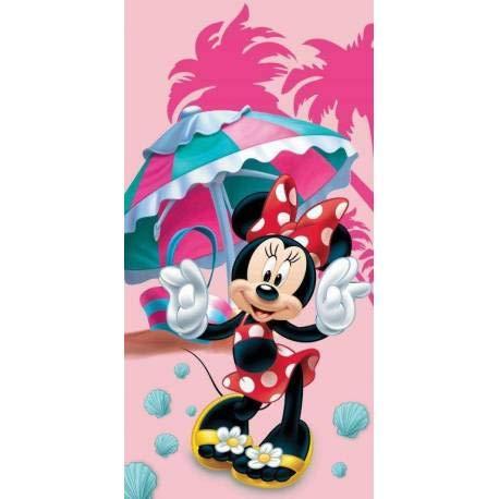 Badetuch 70x140 cm Frozen Cars Planes Mickey Minnie Pooh