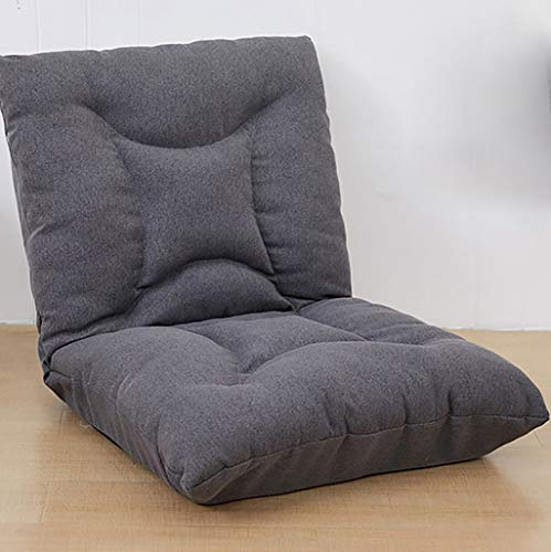 Klapstoel voor meditar, yoga, lezen, tv of gaming, geschikt voor thuis of op kantoor.