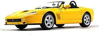 Ferrari 550 Barchetta Pininfarina Yellow Color 1:43 Scale Diecast Model Car 1996 Year