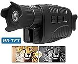 DZKU Infrarot Nachtsichtgerät Jagd Militär Monokulare HD Digitalkamera, mit Video-wiedergabe USB-Ausgang Funktion, 250m bei Dunkelheit Nachtsicht
