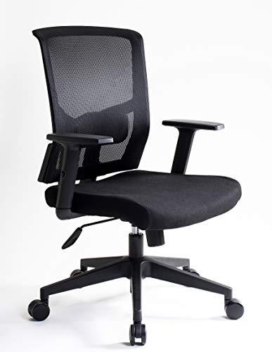 I SEATING Silla oficina ejecutiva con soporte lumbar ajustable en altura silla gamer sillas para escritorio silla ergonomica Caselli