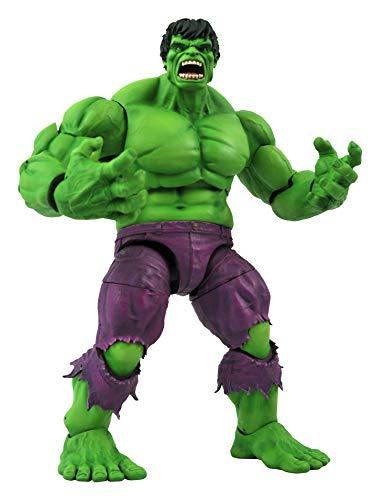 DIAMOND SELECT TOYS Marvel Select: Rampaging Hulk Action Figure, Multicolor