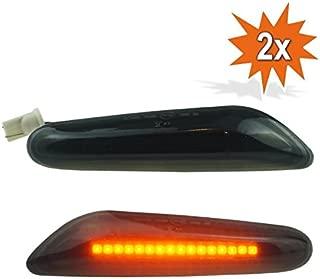 TOOGOO R/éTroviseur Lat/éRal /à LED pour Clignotant Lat/éRal de Voiture pour Skoda Octavia MK2 A5 2004-2008 1Z0949101C 1Z0949102C