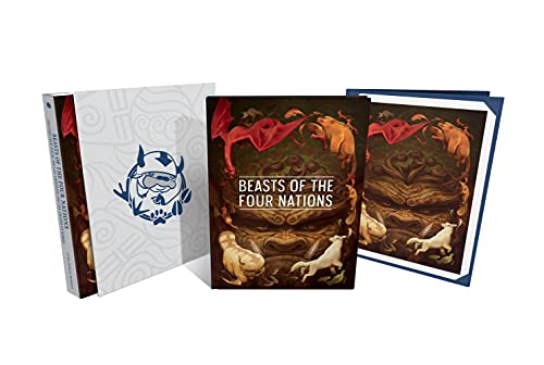 Beasts of the Four Nations: Creatures from Avatar--The Last Airbender and The Le gend of Korra Deluxe Edition