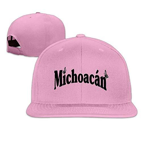 wwoman Michoacan.png Hombres Mujeres Deporte Sombrero Gorra Personalizado Béisbol Malla Sombrero Diseño Hatpink Rosa