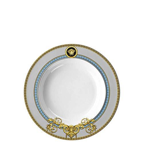 Set 2 Versace Meets Rosenthal Prestige Gala Le Bleu Teller rund 22 cm