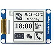 Waveshare 1.54 Inch E-Paper Display Panel Module Kit 200*200 Resolution3.3v E-ink Electronic Screen for Raspberry Pi with SPI Interface Embedded Controller