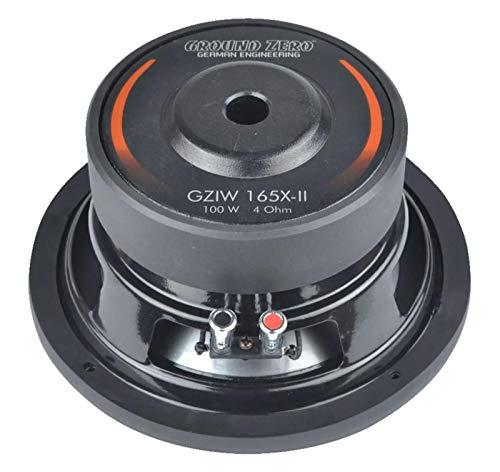 Ground Zero Lautsprecher GZTC165 300W Kompo für Mazda 6 2002-2012
