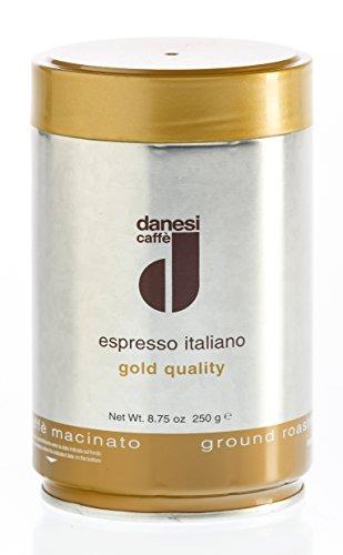 Danesi ORO, gemahlener Espresso - Dose, 250 g