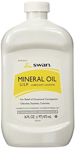 Vi-Jon Inc. S0883 Swan Mineral Oil 16 oz Per Bottle (2 Bottles) by Vi-Jon