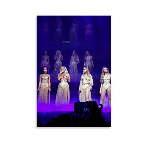 Sänger-Poster Little Mix Lm5 Tour Outfits, Leinwand-Kunstposter und Wandkunst, Bild, Druck, moderne Familie, Schlafzimmer, Dekoration, Poster, 30 x 45 cm