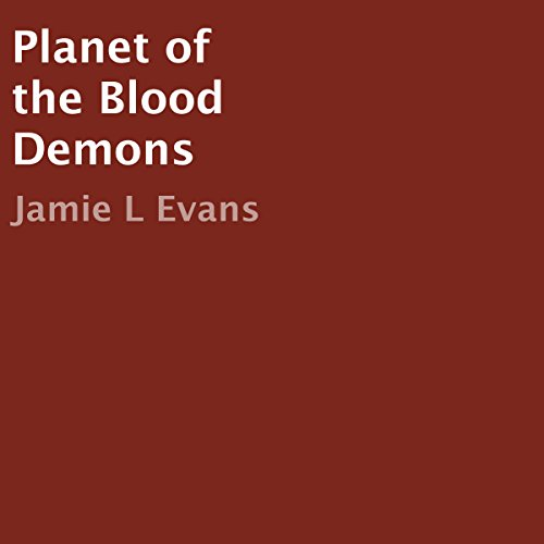 Planet of the Blood Demons audiobook cover art