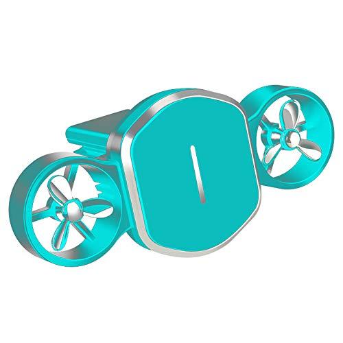 Soporte magnético 2 en 1 para teléfono para automóvil Soporte de salida de aire para aromaterapia Soporte para automóvil de multifuncional para teléfonos inteligentes Android IOS de 4-7.5 pulgadas