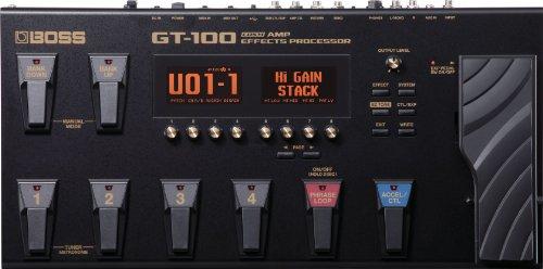 gitarren effekte multieffektgerät boss gt100 effektpedal