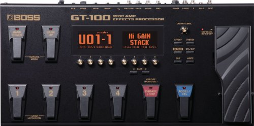 BOSS GT-100 Guitar Multi-Effects Pedal, Highly expressive TOnes & MDP Effects