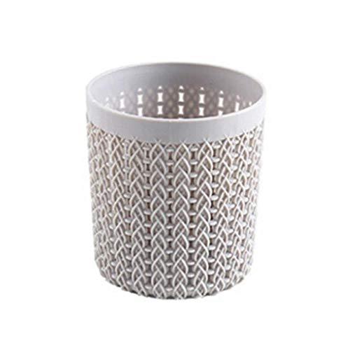 DFD Boîte de rangement cylindrique pour pinceaux de maquillage